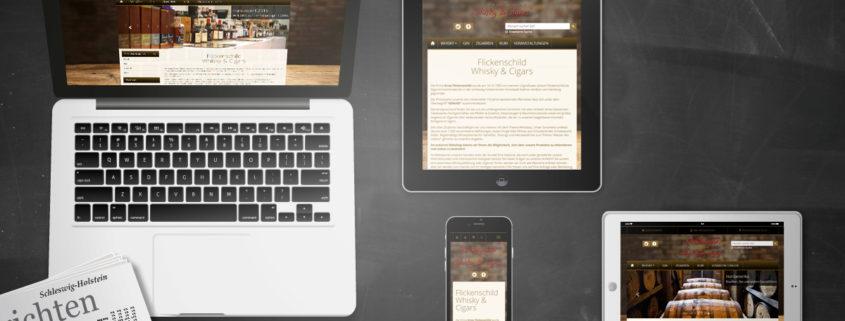 Darstellung Relaunch WHIZITA auf Laptop, Tablet und Smartphone
