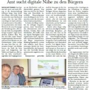 Zeitungsartikel Eckernförder Zeitung