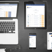 Darstellung Relaunch Lehrinstitut Damp auf Laptop, Tablet und Smartphone