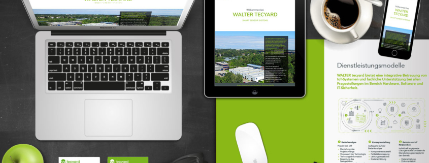 Neues Corporate Design für WALTER tecyard