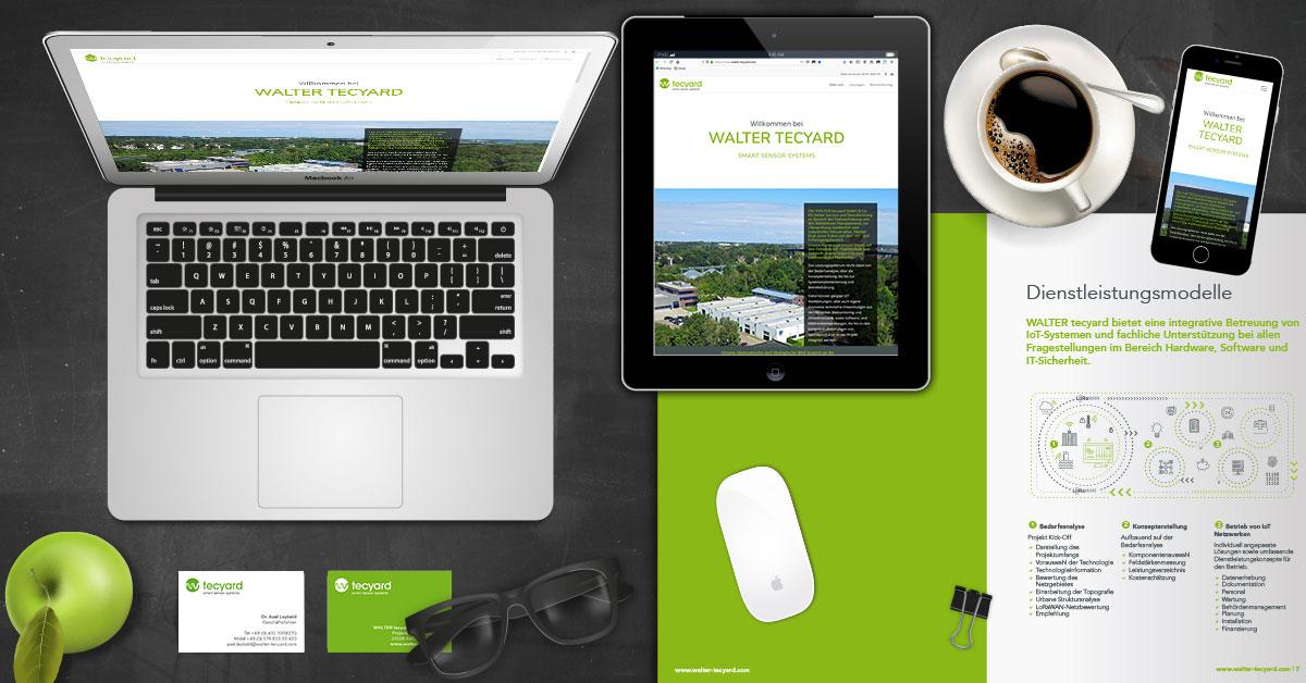 Neues Corporate Design für WALTER tecyard