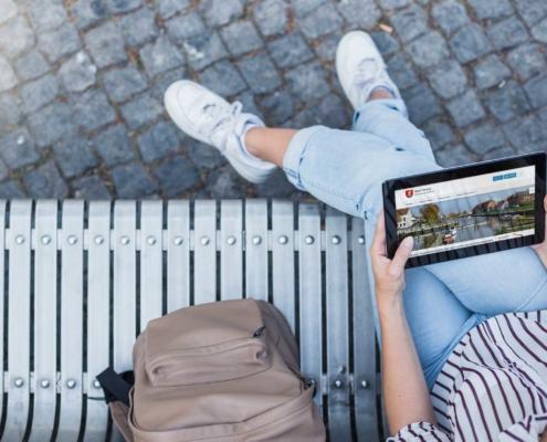 Website für die Stadt Tönning