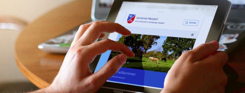 Relaunch Gemeinde Melsdorf